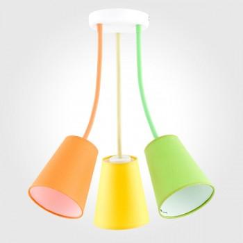 Детская люстра tk lighting 2106 wire colour